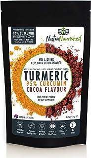 95% Curcumin Turmeric Extract Powder (125g) Natural Pure Supplement, Vegan, Organic, Water Soluble, Non-GMO, Gluten Free, ...