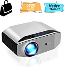 Goodee Portable 4K Movie Projector – Native 1080P Outdoor Home Theater Video Projector, Full HD LCD 300 Inch, contrast 7000:1 with 100,000 Hrs Lamp Life, Compatible with PC, PS4, TV Stick, HDMI, YG620