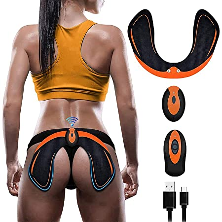 ZHENROG Electroestimulador Muscular Gluteos,EMS Gluteos Estimulador,HipTrainer,Estimulador Muscular Ejercitar Gluteos USB Recargable(Hombre y Mujer)