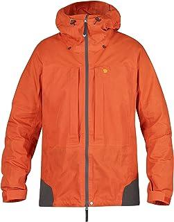FJÄLLRÄVEN Mountain Days Men's Outdoor Jacket, Hokkaido Orange (208), Large