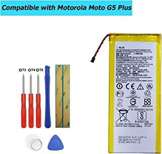 Upplus HG40 Replacement Battery Compatible with Motorola Moto G5 Plus XT1684 XT1685 XT1687 SNN5984A with Tools