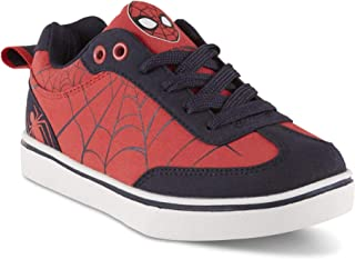 Spiderman Character Boys Toddler Children Kids Spider-Man Sneaker Shoes (Red/Black) (13 - Toddler/Youth)
