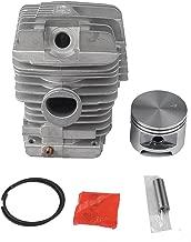 HIPA 49mm Big Bore Cylinder Piston Kits Assy for STIHL MS390 MS290 MS310 029 039 Chainsaw Pin (10 x 32) Circlip Ring
