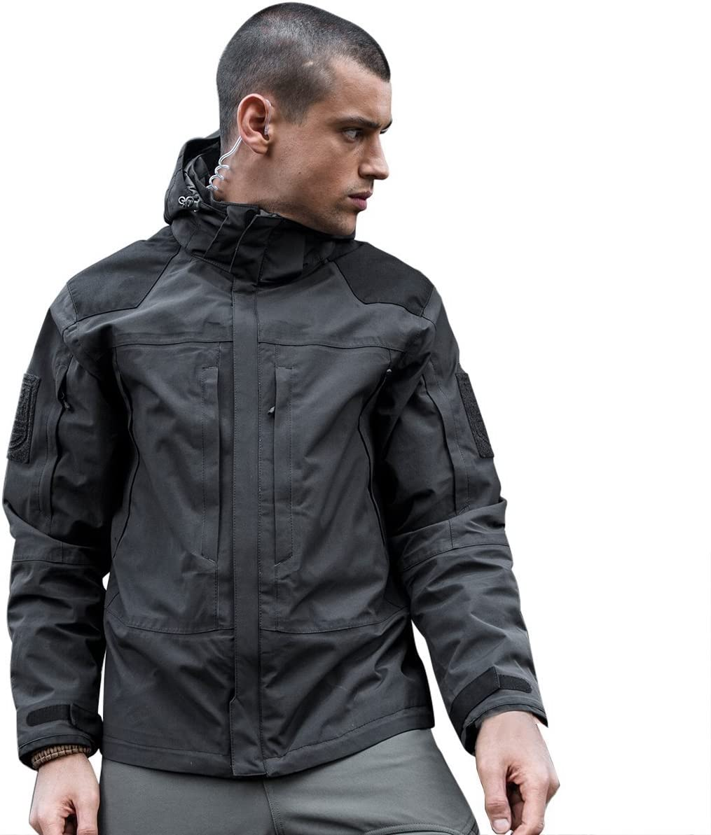 FREE SOLDIER Houston Mall Outdoor Men's 3 in Resistant Water Breatha Virginia Beach Mall Jacket 1