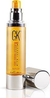 GK HAIR Global Keratin Organic Argan Hair Oil (50ml/1.69 Fl Oz) Siero per lo styling dei capelli per il controllo dell'eff...