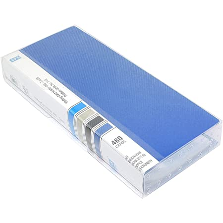 Ecotail Business Card Holder, Debit/Credit/Business/Visiting Name Id Card Holder Book Case Organizer File - 480 Pockets Blue
