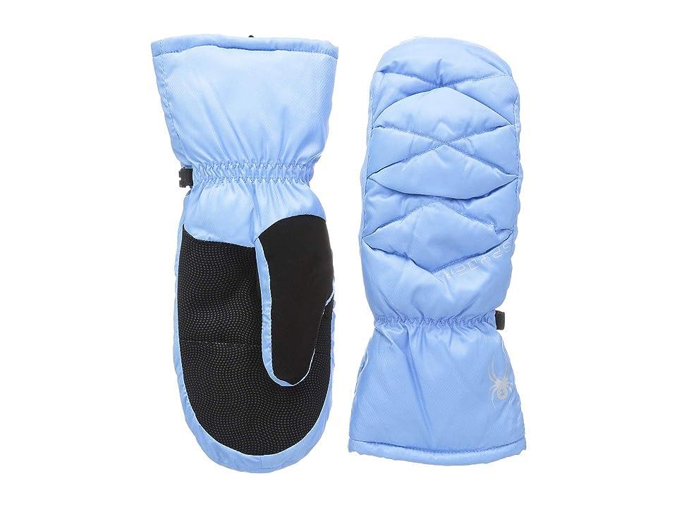 Spyder Candy Down Mitten (Blue Ice/Black/Black) Extreme Cold Weather Gloves