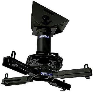 """QualGear Pro-AV QG-KIT-VA-3IN-B Projector Mount Kit Accessory Vaulted Ceiling Adapter, 3"""" 1.5"""", Black"""