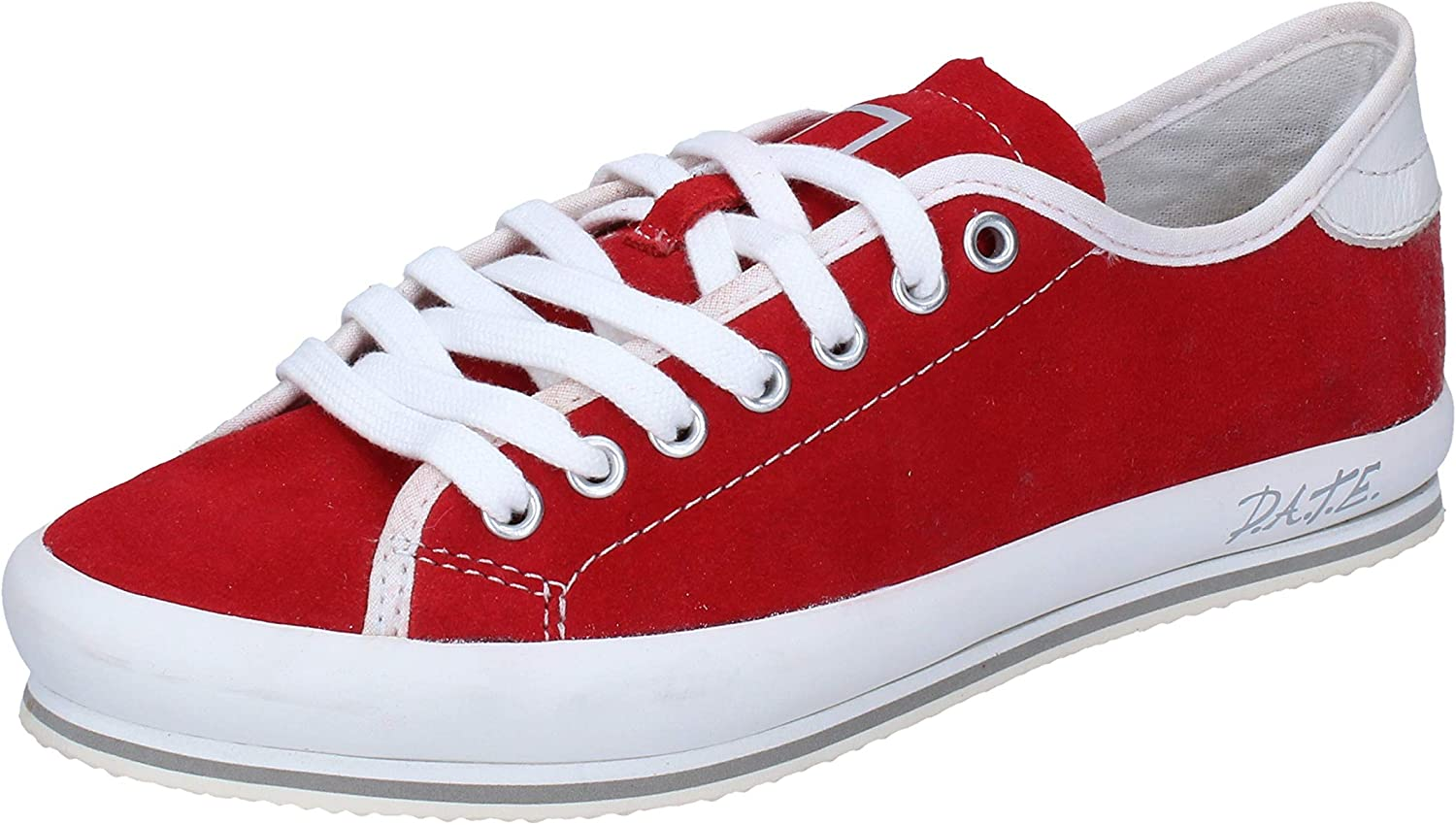 D.A.T.E. (DATE) Fashion-Sneakers Womens Suede Red