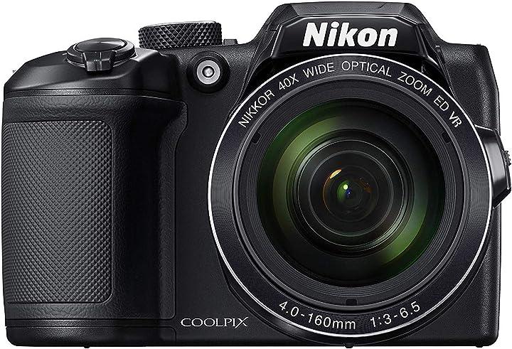 Fotocamera digitale nikon coolpix b500 compatta 16 megapixel zoom 40x VNA951GA