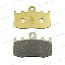 HTTMT BPFA335- Disc Brake Pad Set Compatible with BMW R 1100 S R 1200 GS RT K 1300 GT Touring Compatible with-FA335