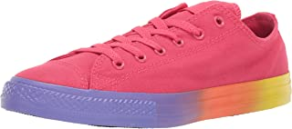 Converse Kids' Chuck Taylor All Star Rainbow Midsole Low Top Sneaker