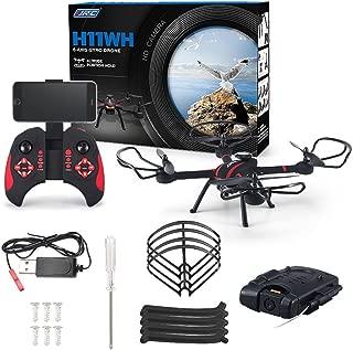 Nesee Original JJRC H11WH 2.4G 4CH 2.0MP HD Camera WiFi FPV RC Quadcopter RTF C5O0
