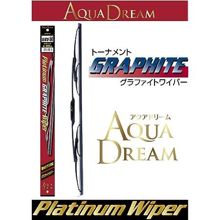 AUQA DREAM(アクアドリーム) 国産車用 Platinum グラファイトワイパー 500mm AD-WTGP-50