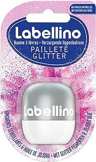 Nivea Labellino Glitter Edizione Limitata (1 x 7 g), Balsamo labbra con oli naturali e pigmenti scintillanti, idratante, a...