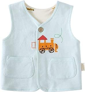 Baby Girls Boys Waistcoat Sleeveless Cotton Lightweight Vests 0-4 Years