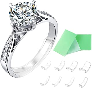 Invisible Ring Size Adjuster for Loose Rings Ring Adjuster Fit Any Rings, Assorted Sizes of Ring Sizer