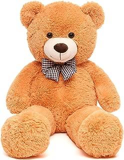 MorisMos Giant Teddy Bear Cute Soft Toys Teddy Bear for Girlfriend Kids (Brown, 47 Inch)