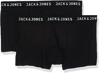 Jack & Jones Men's JACJON TRUNKS 2 PACK NOOS Trunks Underwear