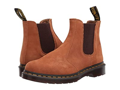 Dr. Martens 2976 Vintage (Tan Super Hi Suede Waterproof) Boots