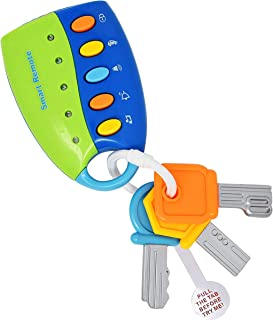 Musical Smart Remote Key Toy for Baby, Toddler, and Kids, Try Me Batteries Included