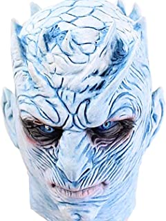 Game of Thrones Mask Night's King White Walker Mask Halloween Costume Party Latex Head Mask for Adults