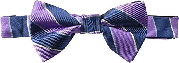 Amazon Brand - BUTTONED DOWN Men's Classic Silk Pre-Tied Bow Tie