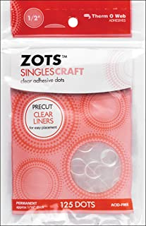Therm-o-Web 125 ct Craft Zots Singles, Clear
