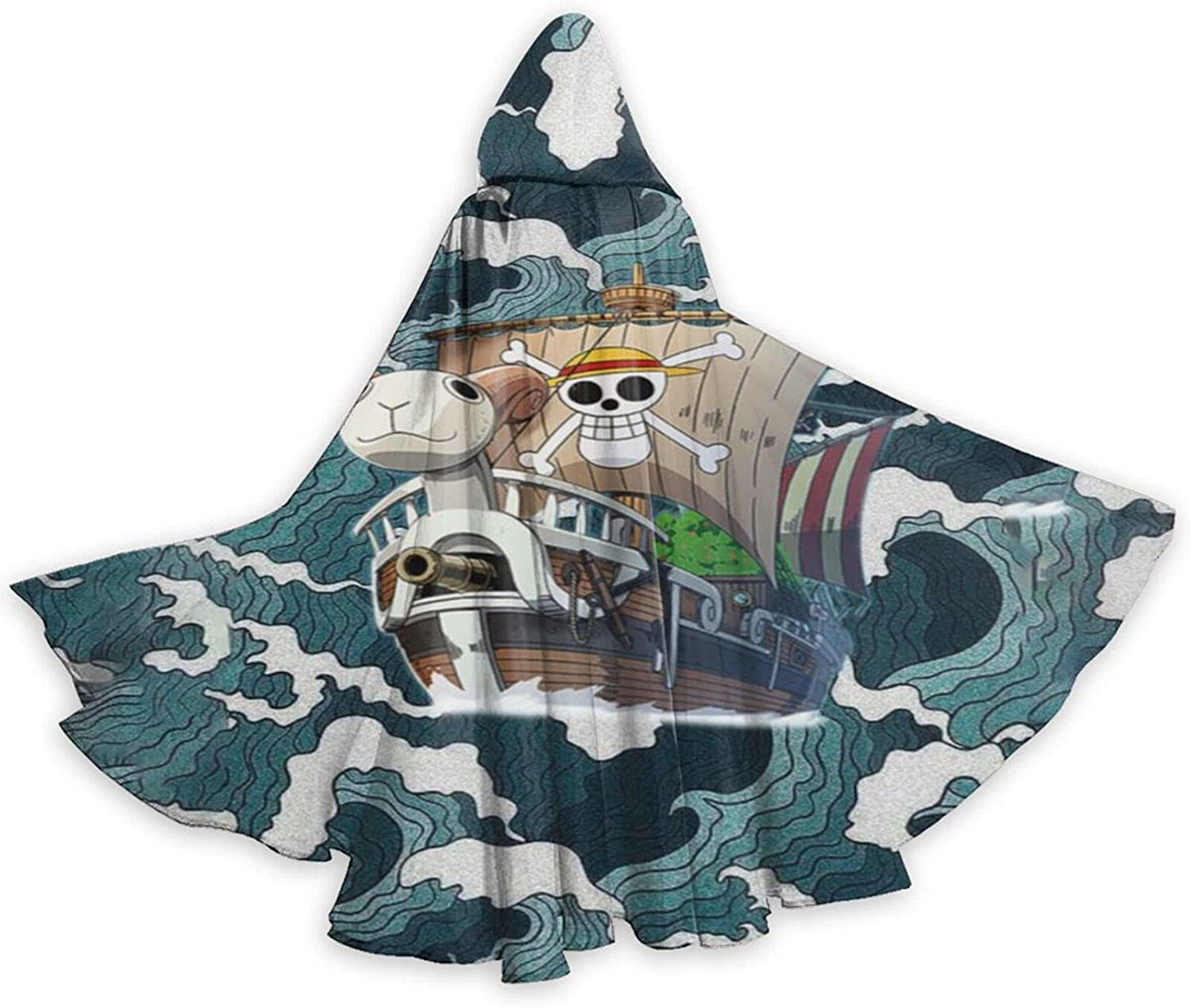 Unisex ONE P-IECE Anime Hooded Cospl Tampa Mall 2021 model Cloak Robe Halloween Wizard