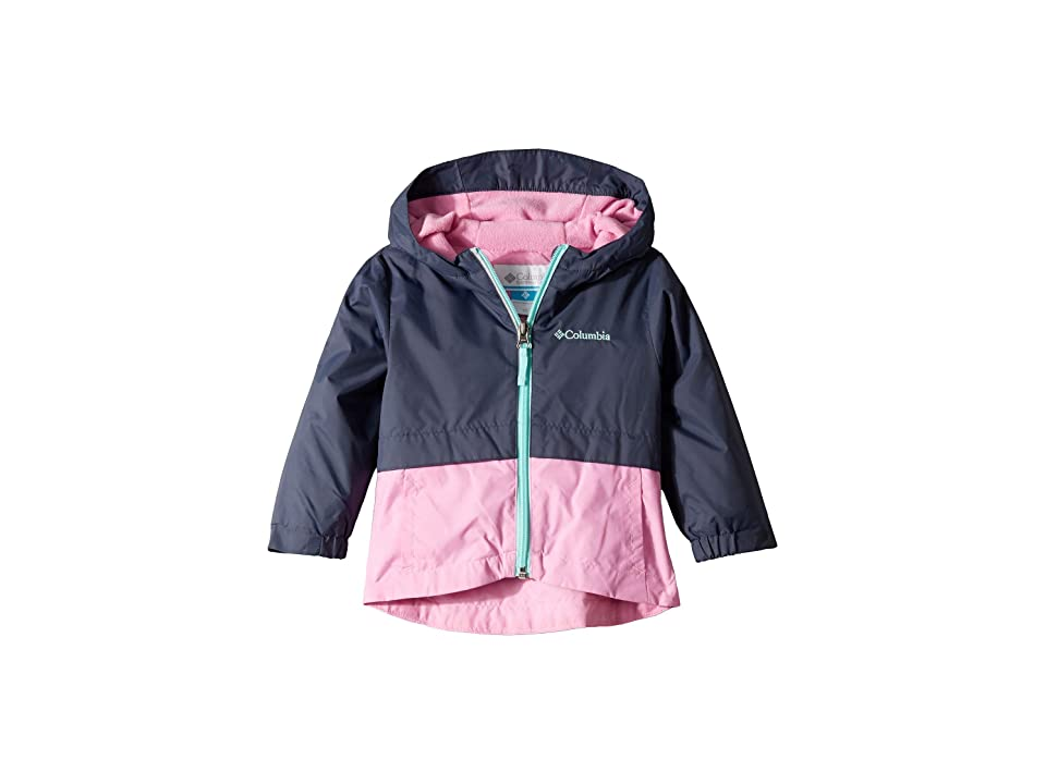 Columbia Kids Rain-Zillatm Jacket (Toddler) (Nocturnal/Orchid/Gulf Stream) Girl
