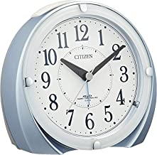 CITIZEN シチズン 目覚まし時計 電波時計 ネムリーナマロンF ブルー 4RL431-N04