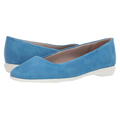 Naturalizer Alya (Admiral Blue Suede) Women