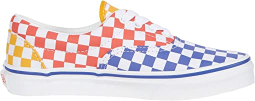 (Tri Checkerboard) Multi/True White