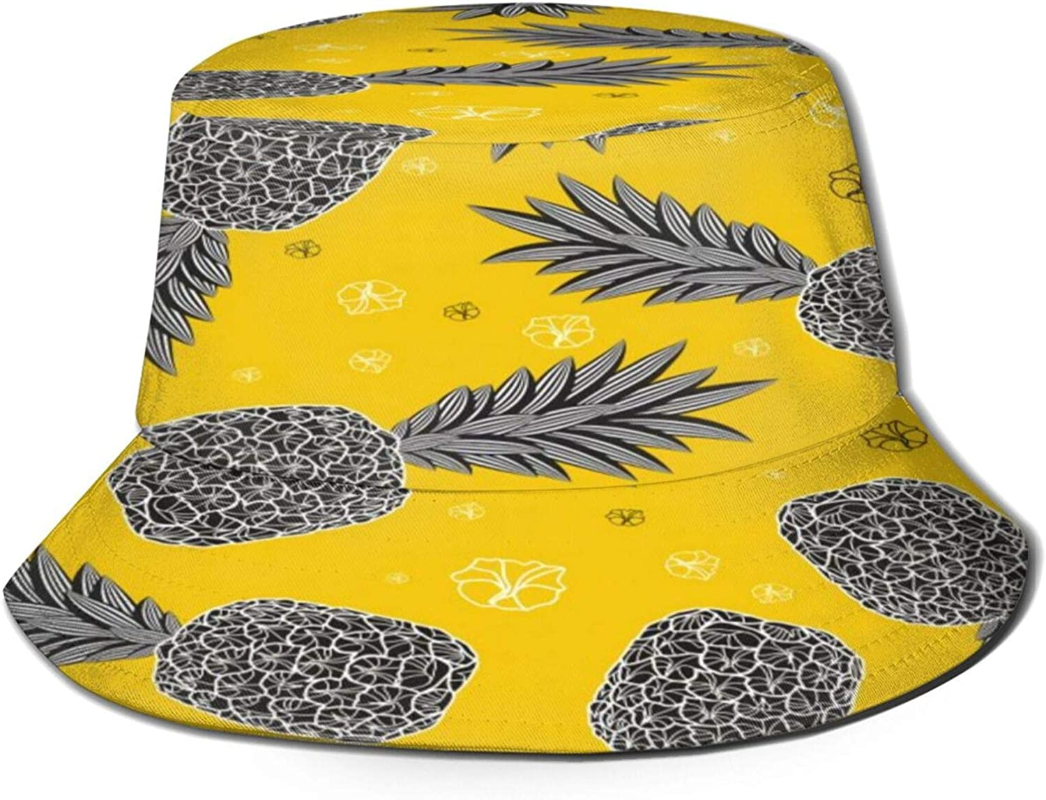 Pineapple Tropical Selling At the price of surprise Flowers Bucket Hat Pack Sun Summer Unisex