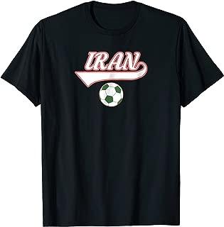 Iran Team world fan soccer 2018 jersey   Cup Fan T-Shirt