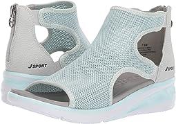 Seafoam/Light Grey Knit