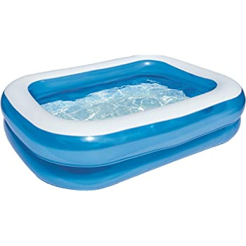 Bestway - Piscina Rectangular, Color Azul, Color Azul (12819 ...