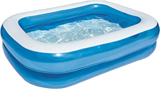 Bestway 54005 - Piscina Hinchable Infantil Blue Rectangular 201x150x51 cm