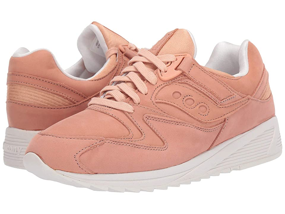 Saucony Originals Grid 8500 Burnished (Peach/White) Men