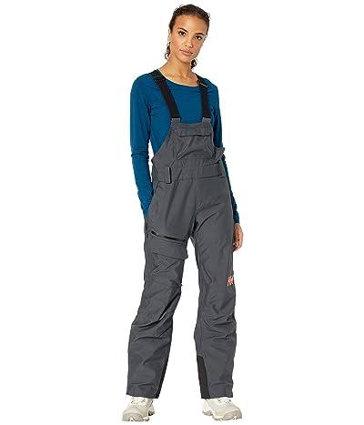 Helly Hansen Powderqueen Bib Pants (Slate) Women