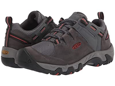 KEEN Steens Vent (Steel Grey/Picante) Men