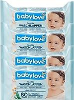 Feuchte Waschlappen, 4er Pack (4 x 80 St)