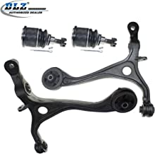 DLZ 4 Pcs Front Suspension Kit-2 Lower Control Arm 2 Lower Ball Joint Replacement for Honda Accord(Coupe and Sedan) 2003-2007 /Acura TSX 2004-2008#K80228 K640290 K640289