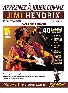Apprenez A Jouer Comme Jimi Hendrix (Book/Cd)