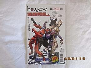 Hawkeye Vs Deadpool #1 Groot & Rocket Raccoon Variant