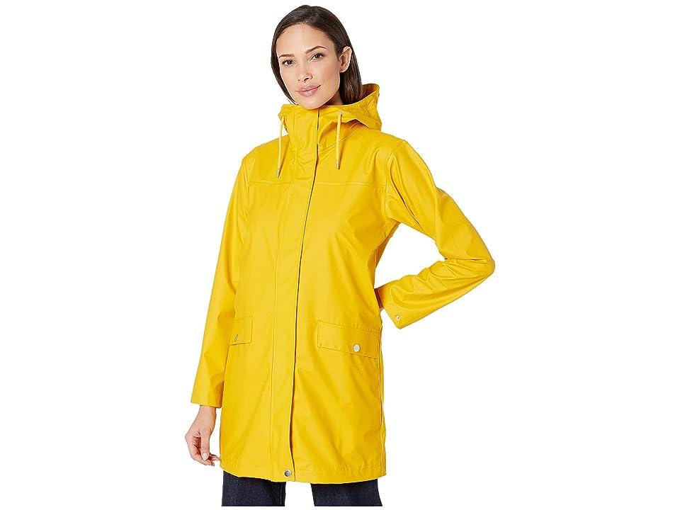 Helly Hansen Moss Raincoat (Essential Yellow) Women