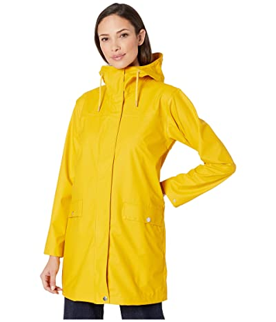 Helly Hansen Moss Raincoat (Essential Yellow) Women