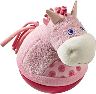 HABA Roly Poly Horse Soft Wobbling & Chiming Toy