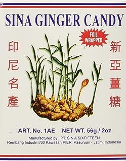2 x 2oz Sina Ginger Candy Make Easy Ginger Tea