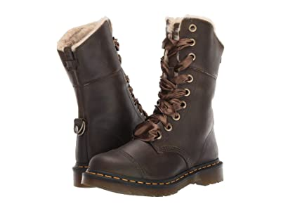 Dr. Martens Aimilita FL Rapture (DMS Olive Wyoming) Women